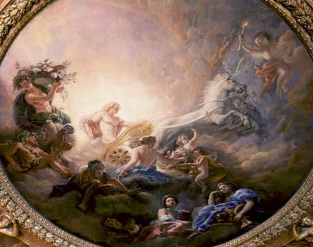 Riyoko ikeda berubara la rosa di versailles lady oscar for Salon d apollon